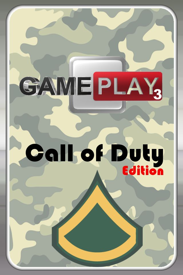 Screenshot Gameplay 3 CoD edition